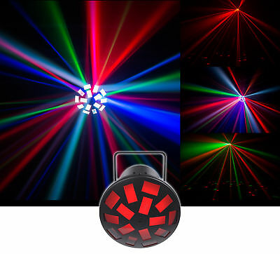 Chauvet DJ Mushroom Dance Floor Effect Light w/ Automated+Sound Activated Beams