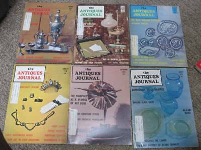 The Antiques Journay Magazine lot 2 early 1970s