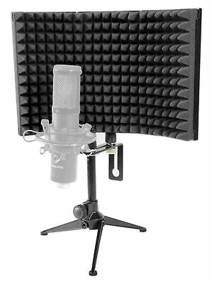 Rockville RockShield 1 Studio Microphone Isolation Shield w/Sound Dampening Foam