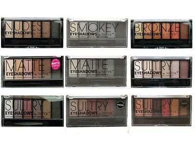 Technic Eyeshadow Palette 6 Colour Shade Shadow Kit Compact Nude Smokey Sultry