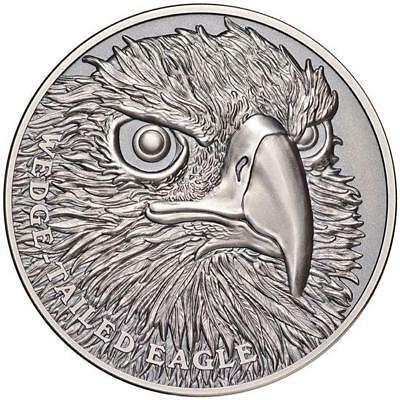 1 Oz Silber Niue Wedge Tailed Eagle 2019 Ultra High Relief Wildlife Antique