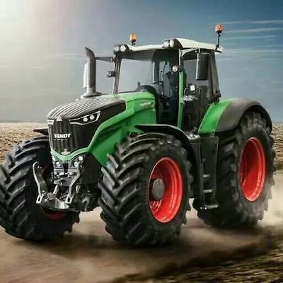 A3 Fendt 1050 Vario The Beast Tractor Agriculture Poster Brochure Picture Art