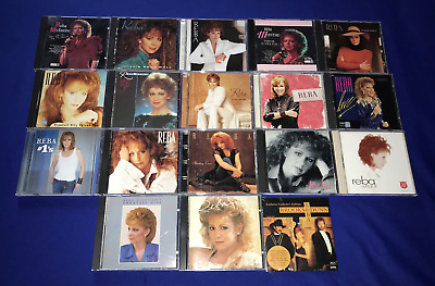 LOT of(19)Reba McEntire CD Hits Rumor What If #1's Live Behind SceneLove Read My