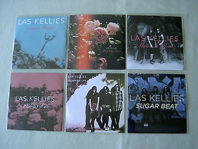 LAS KELLIES job lot of 6 promo CDs Friends And Lovers Summer Breeze Make It Real