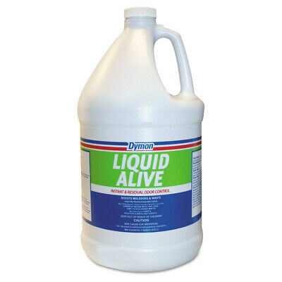 Dymon LIQUID ALIVE Odor Digester, 1gal Bottle, 4/Carton  33601 New