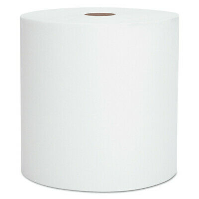"Kimberly-Clark Hard Roll Towels, 1.75"" Core, 8 X 950ft, 1 3/4"" Core, White, 6 Ro"