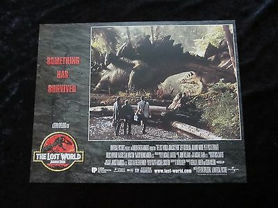 Jurassic Park lobby card # 7 - Lost World, Jeff Goldblum, Julianne Moore