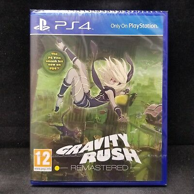 Gravity Rush Remastered (PlayStation PS 4) PAL Ver / Region Free