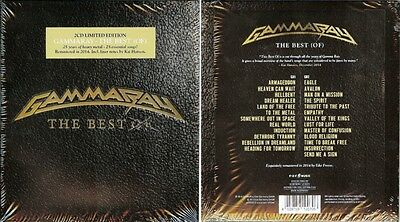 GAMMA RAY The Best Of 2015 limited edition deluxe 2-CD set NEW/SEALED Helloween