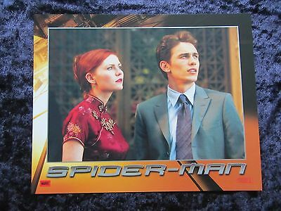 SPIDERMAN lobby card #2 TOBEY MAGUIRE, KIRSTEN DUNST, WILLEM DAFOE, JAMES FRANCO