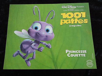 A BUG'S LIFE lobby cards DISNEY / PIXAR French set of 8 stills
