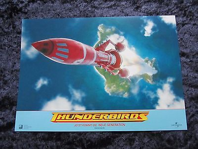 THUNDERBIRDS Lobby Cards - German set of 8
