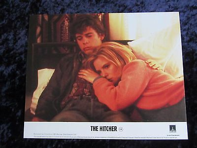 The Hitcher lobby card - C. Thomas Howell, Jennifer Jason Leigh - 8 x 10 inches