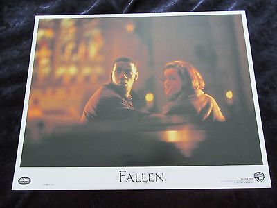 Fallen lobby card # 2  - Denzel Washington