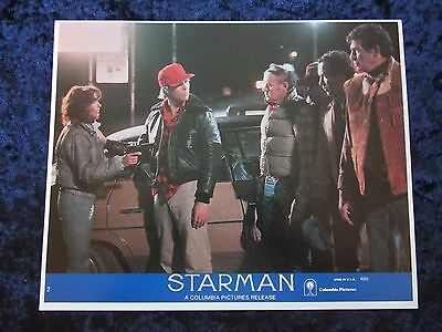Starman lobby card # 2 - Jeff Bridges, Karen Allen, John Carpenter