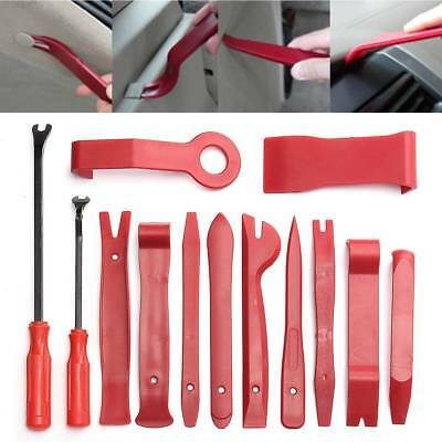 13PC Radio Car Door Body Clip Panel Trim Dash Audio Plastic Removal Pry Tool Kit
