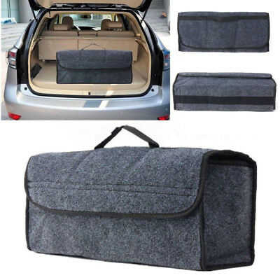 Heavy Duty Car Boot Organiser Multipurpose Car Foldable Trunk SUV Storage Large