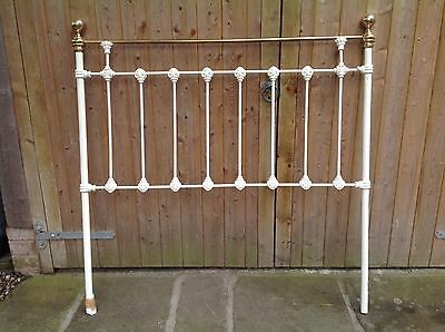Head Board  Bedstead Double Metal Shabby Chic Antique Style