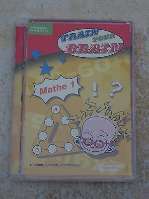 Westermann Lernspiel, Train your Brain, Mathe 1, CD-ROM, NEU, in OVP!!
