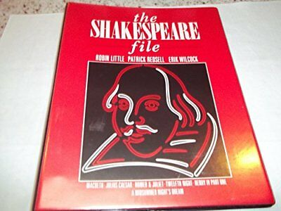The Shakespeare File Paperback Book The Cheap Fast Free Post