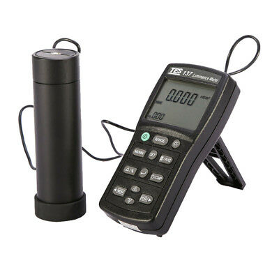 TES-137 Luminance Meter Dual Display 4 Digital LCD Read Out USB Measurement