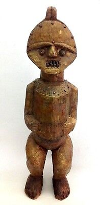 fine old Ambete Figure metal shoded 16 inch old Germany collection