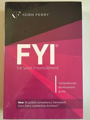 FYI: For Your Improvement - Competencies Development Guide, 6th Edition