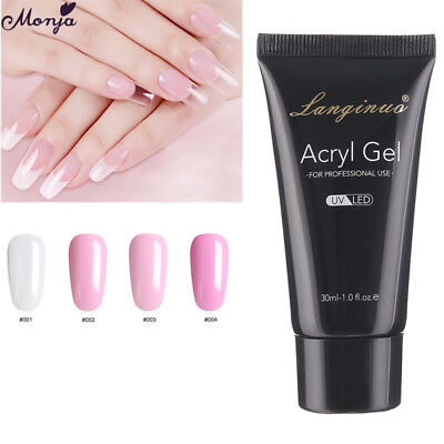 Uv Gel Set Poly Gel UV Gel Builder Nail Kit Set Quick Builder Lacquer Brush Nail