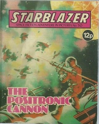 The Positronic Cannon,starblazer Space Fiction Adventure In Pictures,comic,no.30