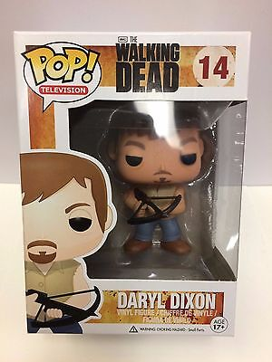 The Walking Dead Daryl Dixon Pop ! Figurine en Vinyle #14 Funko