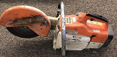"Stihl TS 400 Concrete Saw 12"" Cut Off"