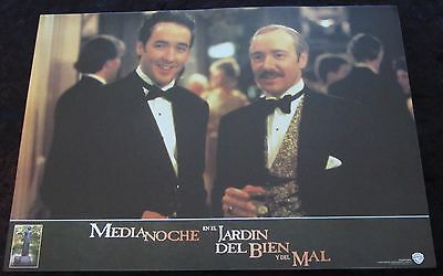 MIDNIGHT IN THE GARDEN OF GOOD AND EVIL lobby card  # 8 - KEVIN SPACEY