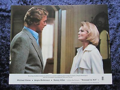 Dressed To Kill lobby card # 5 - Angie Dickinson, Nancy Allen, Brian De Palma