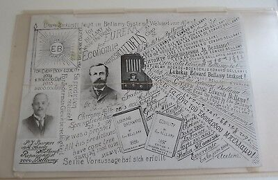 Arizona Citizen 1935  Edward Bellamy socialist EB Everybody Equality Postcard