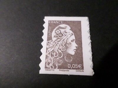 FRANCE 2018, timbre AUTOADHESIF MARIANNE L ENGAGEE, 0.05, neuf** MNH STAMP
