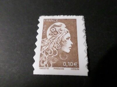 FRANCE 2018, timbre AUTOADHESIF MARIANNE L ENGAGEE, 0.10, neuf** MNH STAMP