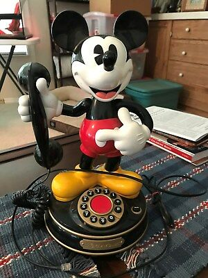 Disney 1997 Mickey Mouse Pushbutton Phone