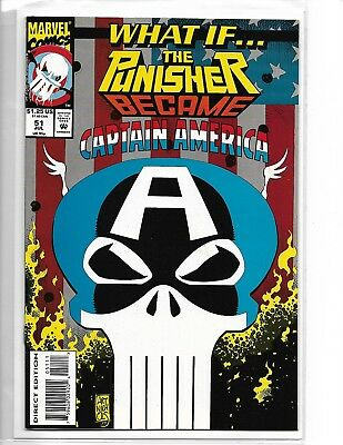 What If #51 The Punisher Became Captain America?