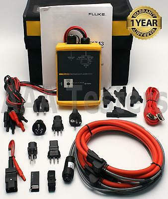 Fluke 1743 Three Phase Power Quality Logger Memobox Analyzer Fluke-1743