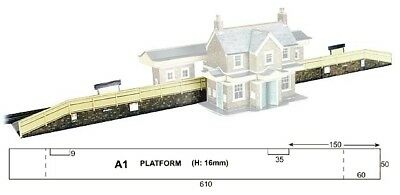 Super Quick SQA1 Model Railway Kits OO HO Gauge Scale - Station Platform A range