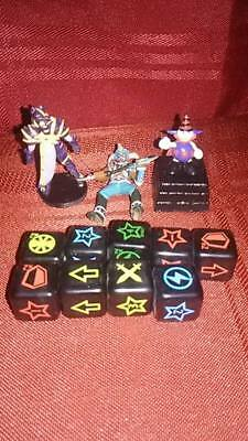 Yugioh Dungeon Dice Monsters lot of dice and figures 96