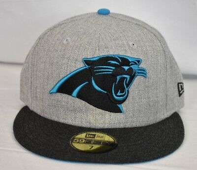 afbe88338cacf New Era 59Fifty Mens NFL Carolina Panthers Fitted Hat Cap NWT Pick Size