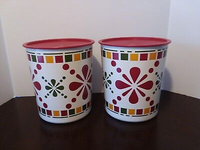 Tupperware Canisters  Large hh