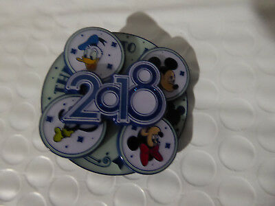 Disney Trading Pins 126425 The Year to Be Happy - 2018 - Spinner