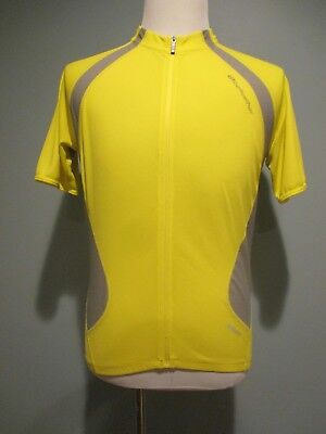 9b48a7000 Bellwether Full Zip Yellow Short Sleeve Cycling Jersey Men s Large  Excellent!