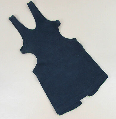 1920s Young Boys Navy Blue Wool Bathing Suit Swimsuit by Lamb Knit - singlet
