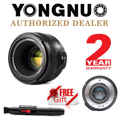 Yongnuo YN 50mm F1.8 Large Aperture Auto Focus Lens For Nikon + Cleaning Pen US