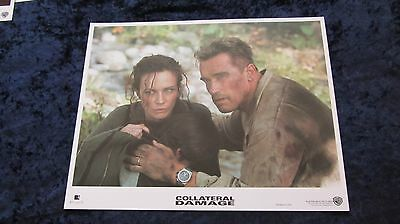 COLLATERAL DAMAGE lobby cards ARNOLD SCHWARZENEGGER set of 8 cards
