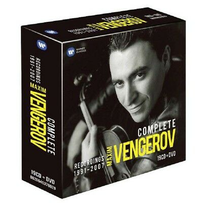 - Maxim Vengerov - The Complete Recordings 1991-2007 - Warner Cla 2564631514 - (