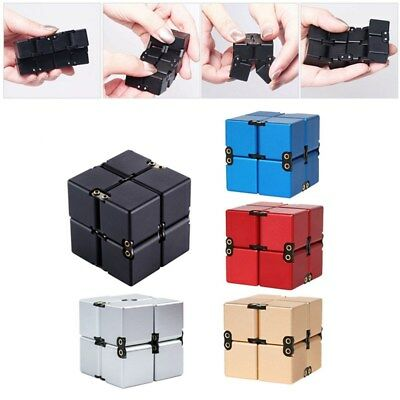 Hot Luxury EDC Fidget Toy Infinity Cube Mini Cube Stress Relief Anti Anxiety Toy